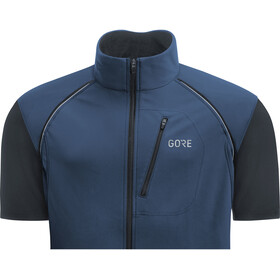 GORE WEAR C3 Windstopper Phantom Zip-Off Jacket Herr deep water blue/black